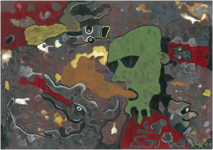 Art idea, number 4, outsider art - Outsider art and stories gallery by oldbone