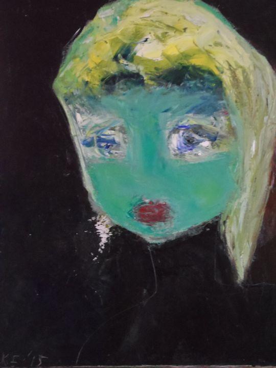 Portrait of a Spartan Girl - Imelda Keyen