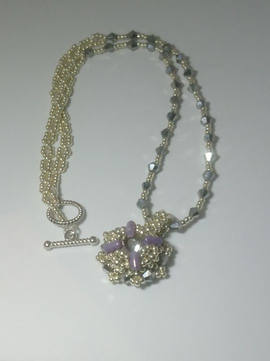 Cold evening necklace - EllaBijoux