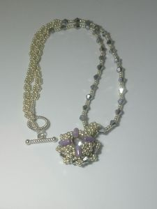 Cold evening necklace