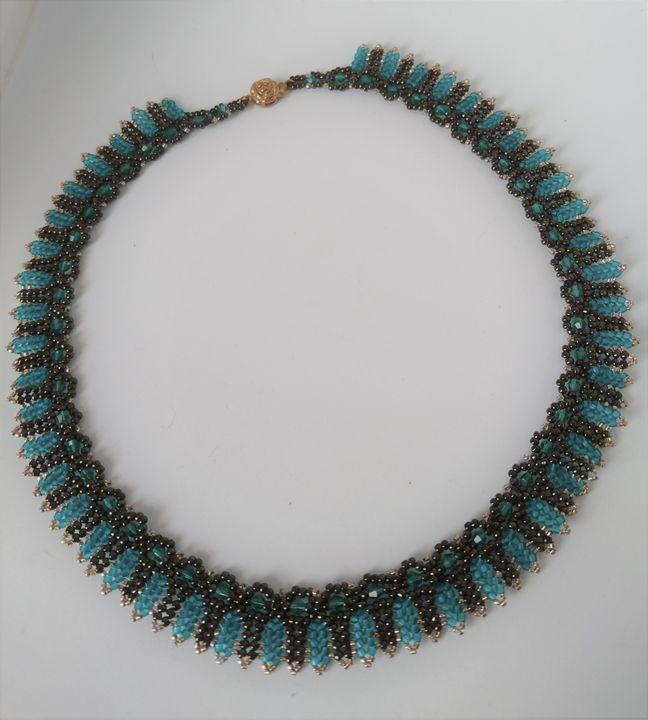 Egyptian style necklace - EllaBijoux