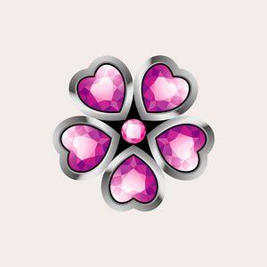 heart shape gems