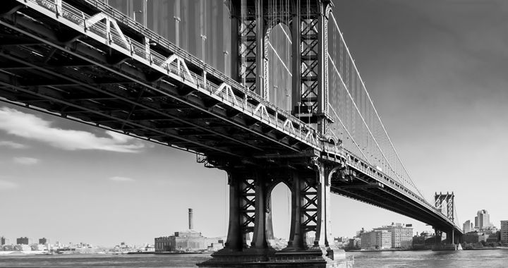 Manhattan Bridge - Mute Photography