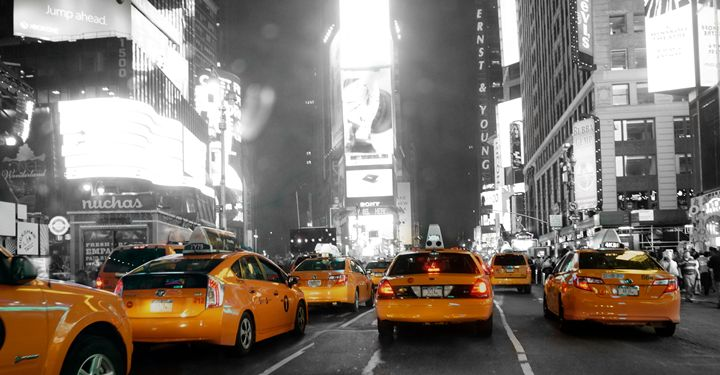 Big Apple Taxi Driver - Mute Photography