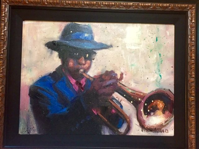 """""""Jazz Man"""" by Vincent Silvano - The Art Place"""