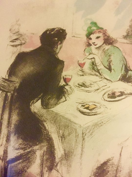 Rare 1945 Etching by Louis Icart - The Art Place