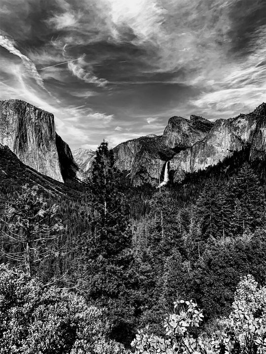 The Yosemite view - art by maddy
