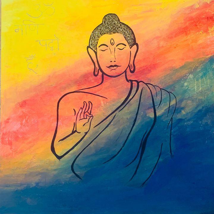 Buddha vibes - Killol Shah