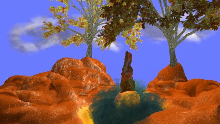 3D realistic unreal landscape - tinpglr