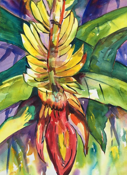 """Tropical Banana """"Pick Me! Pick Me!"""" - Judee Brooks"""