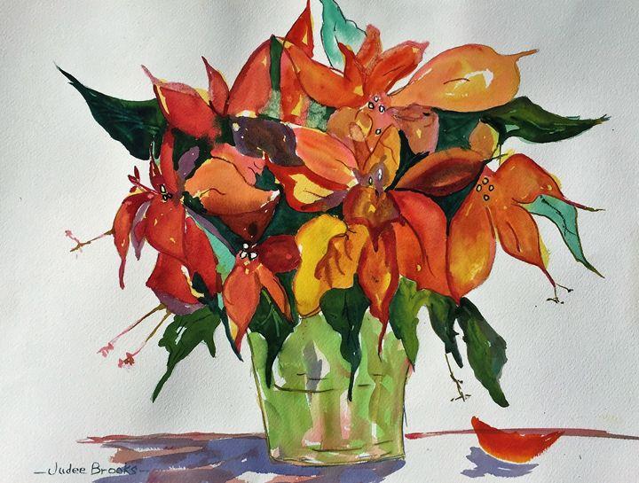 Poinsettia Power - Judee Brooks