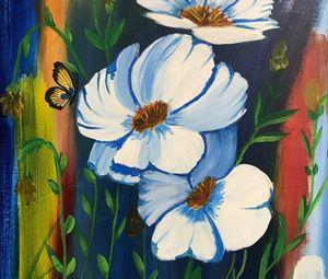 Blue Beauties - Art By Glenda Eades