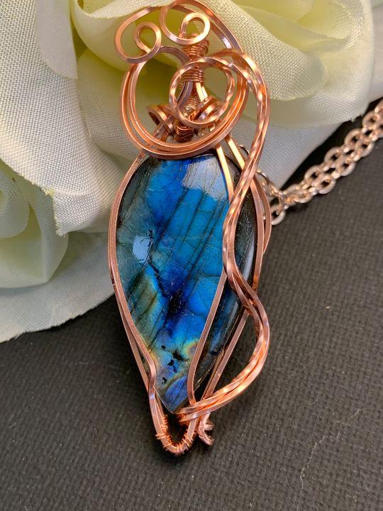 AAA Labradorite Necklace - Art By Glenda Eades