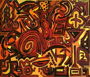 Orange symbols