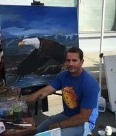 Fred Osborne Painting