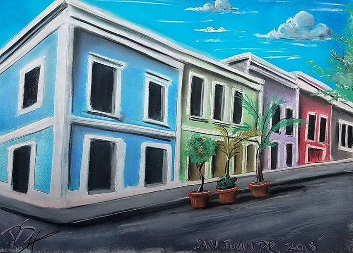 Old San Juan 1 - Deek's Art