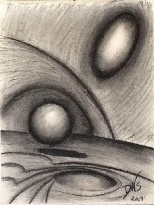 Floating - Deek's Art