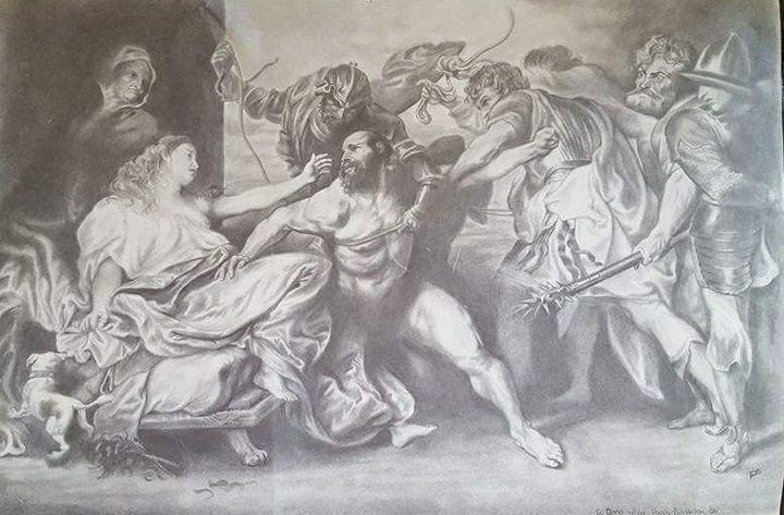 Samson and Delilah - Deek's Art
