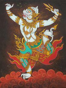 Hanuman, Lord Siva integrity.
