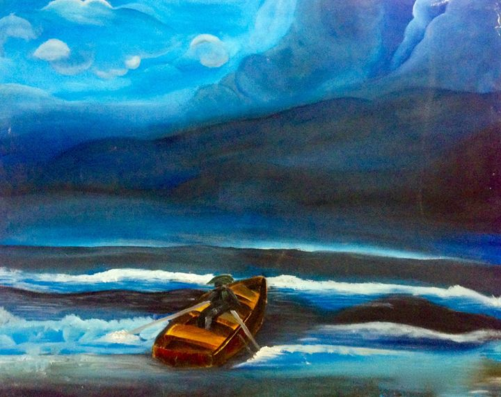 Deep Blue Sea - Maria Aslam