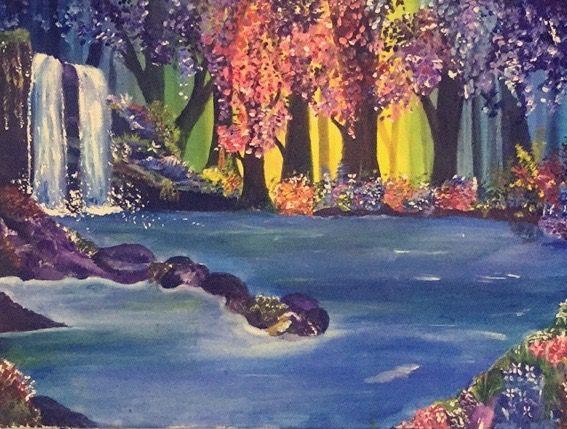 Waterfall - Maria Aslam