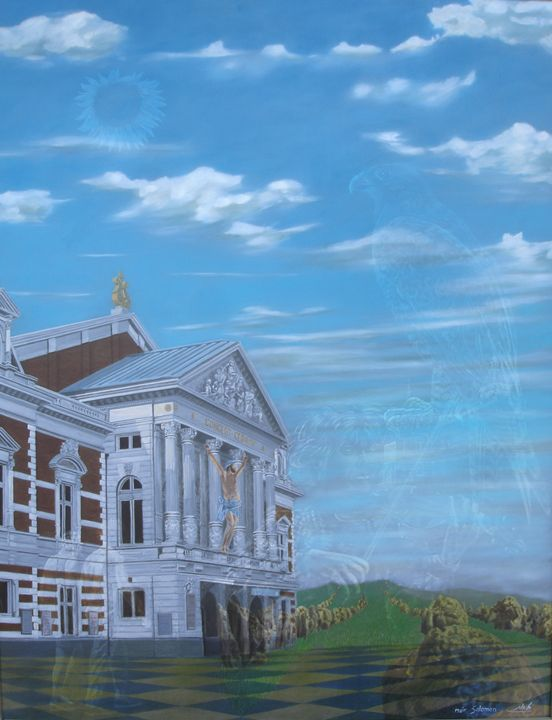 concert gebouw - meir salomon - painter