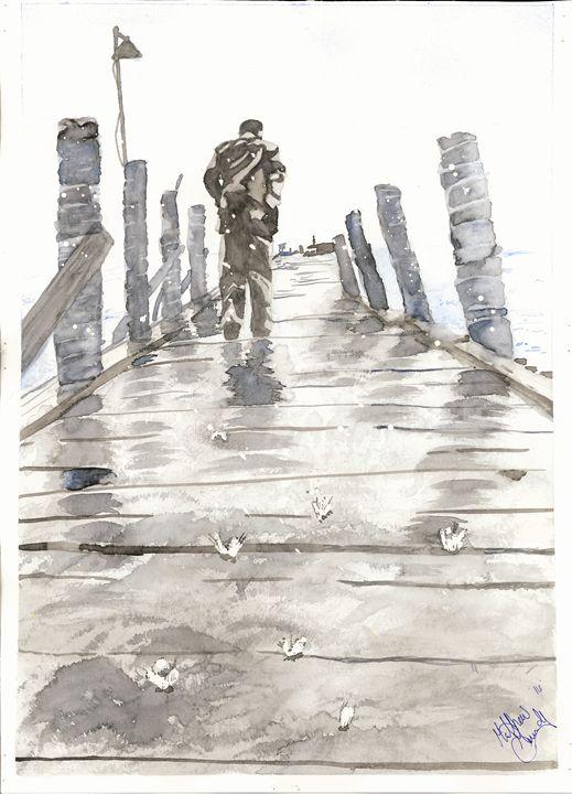 """Rain Walk"" - Watered"