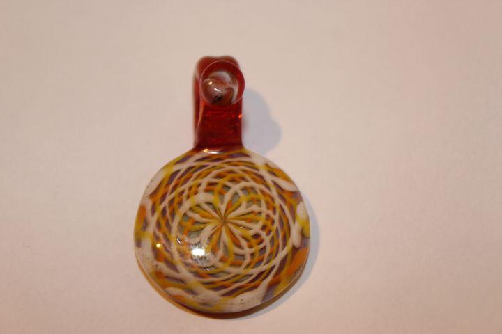 Glass Pendant (Reticello) - MagmaGlass
