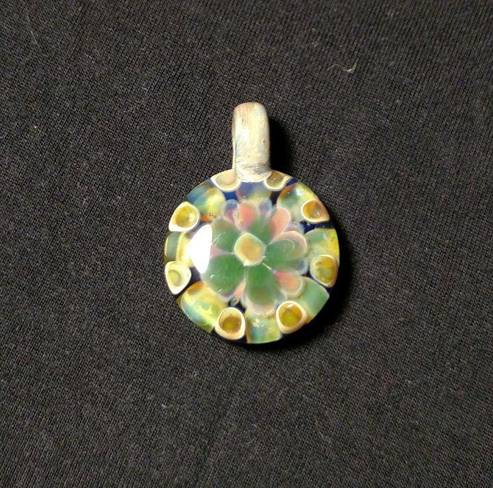 Glass pendant - MagmaGlass