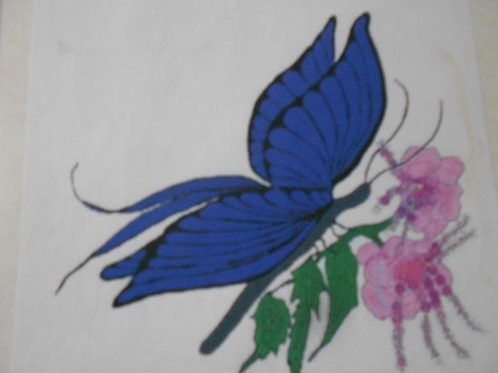 Queensland butterfly - compu art