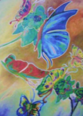 cycadelic butterflies anyway up - compu art
