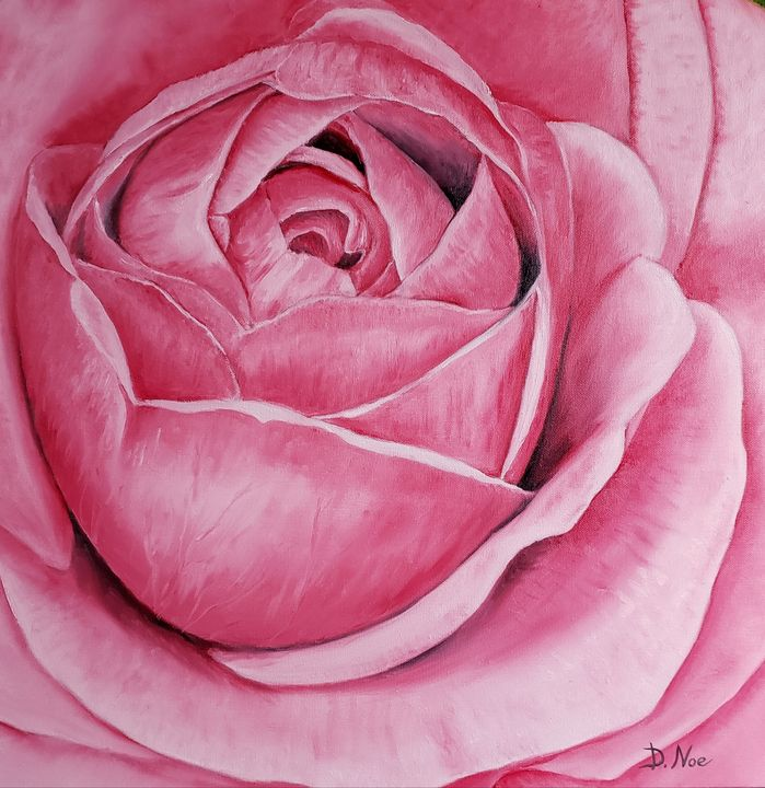 A ROSE FOR MY VALENTINE - ArtByNoe