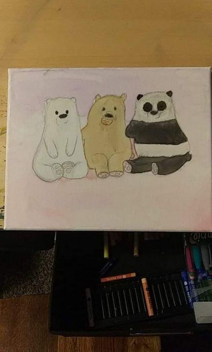 We bare bears abstract - Kenzie Richards