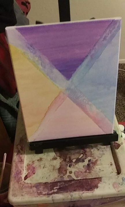 Abstract watercolor - Kenzie Richards