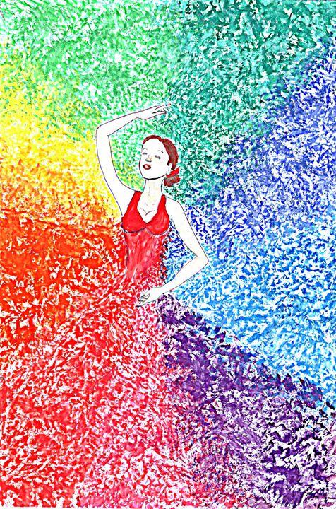 Colorful ballerina - Vall