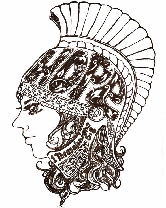 Helmet of Hope - Miss C