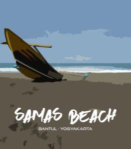 Sailor Boat - Samas Beach
