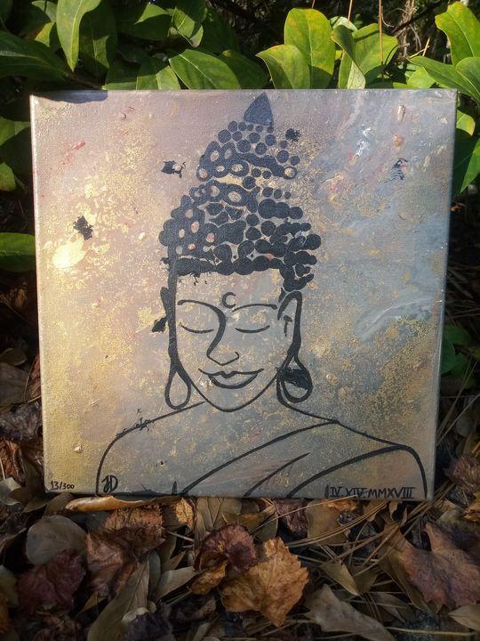 The Golden Buddha - JMDL Art