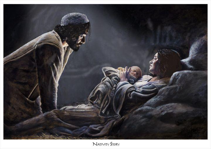 Nativity Story - Ransumed Fine Art