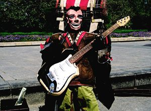 Street Musician, Madrid, 2014