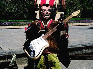 Street Musician, Madrid, 2014 - Rob Prince