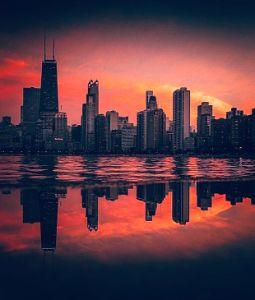 Windy City Reflections - Jason Pannell