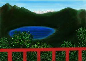 Lake - Digital Art