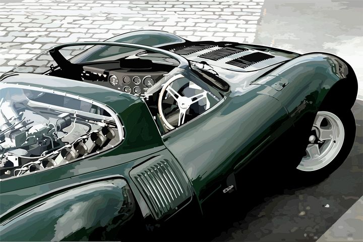 Jaguar XJ13 - Mansky's automotive art