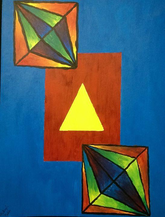 Rainbow diamonds - Mikayla Baker