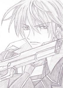 Zero Kiryuu (Vampire Knight) Redraw
