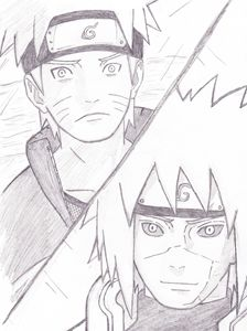 NARUTO Comic Snippet Redraw 2