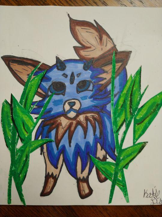 Blue beast - Katie's original art