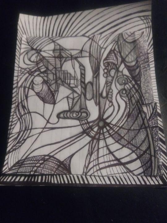 Adoring. Magi - Art of Joan frances fisher