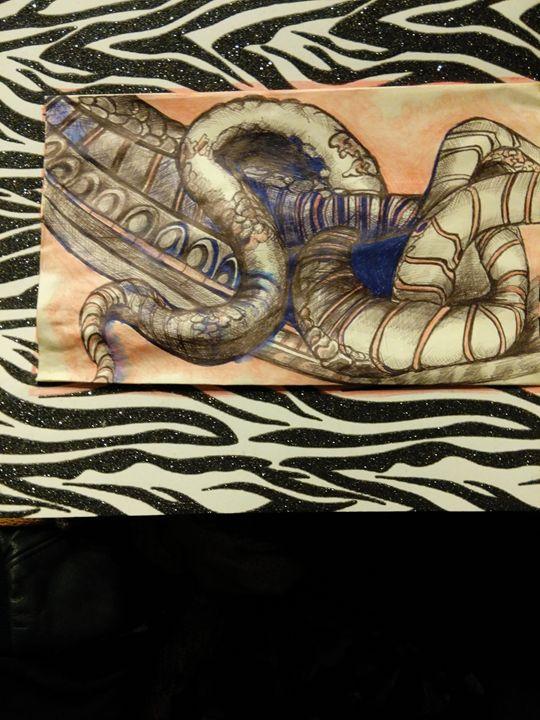 Seductive serpent - Art of Joan frances fisher